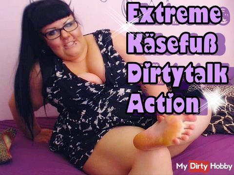Käsefuß Dirtytalk Action wie du es liebst!