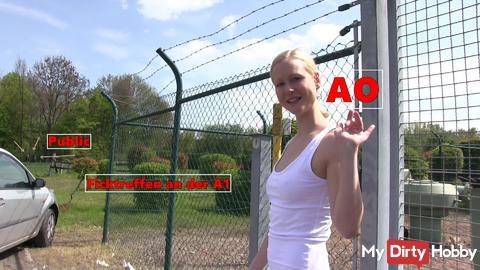 Neues Video: AO FICKTREFFEN an der A1!!! Heute Abend online! Für VIP´s jetzt schon! ;)