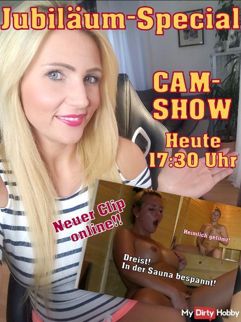 Jubiläum-Special! One Year TY! Heute Cam-Show!!