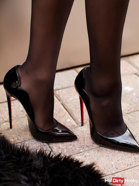 sexy heels und nylons