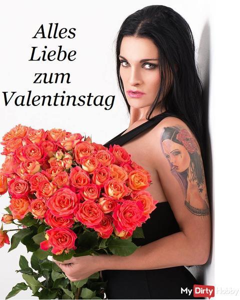 Ganz liebe Valentis-Grüße von mir :-*