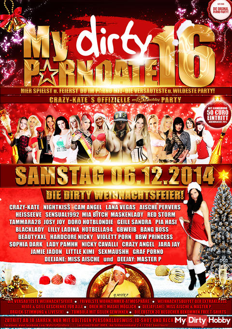 MyDirty-Porndate Party No. 16 / 06.12.2014