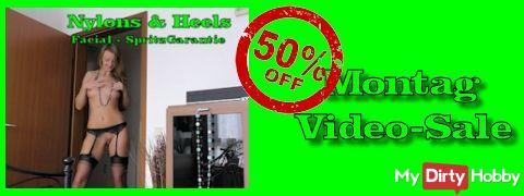 50% Video-Sale
