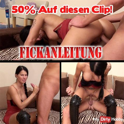 50% !! Today from midnight to midnight !! On the clip: Fickanleitung! 50% !!