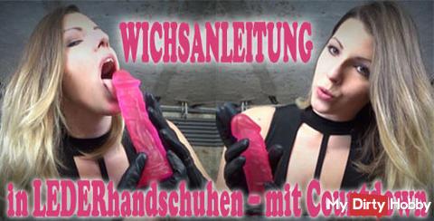 Neues Video - WICHSANLEITUNG in LEDERhandschuhen – mit Countdown