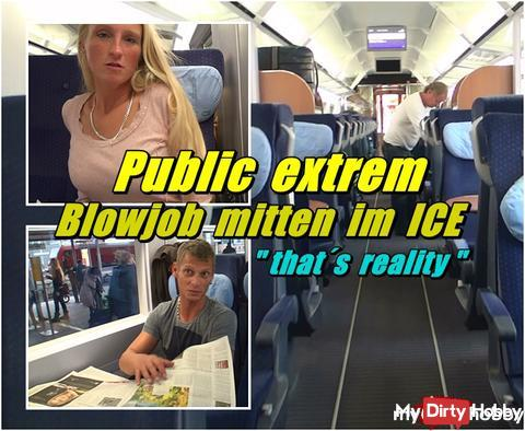 Public extreme - Blowjob in the middle of the ICE ---- the new burner clip from me