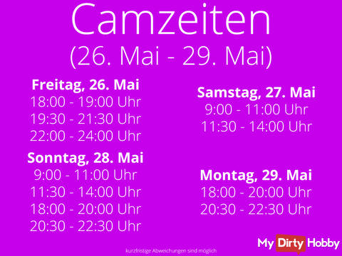 Camtimes from 26. - 29. May