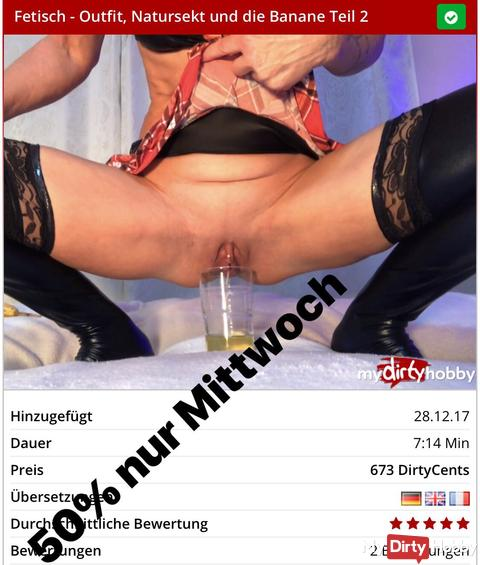 Mittwoch Video Sale ????