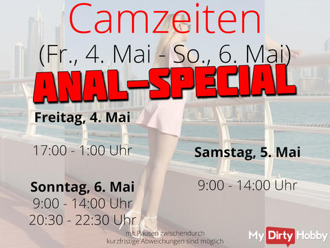 Camtimes ANAL-SPECIAL - Fri. May 4th - Sun. May 6th