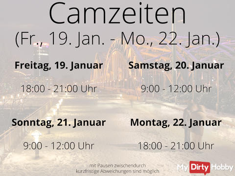 Camtimes - Fri. Jan. 19th - Mon. Jan. 22nd