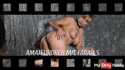 21.04 .: AMATEUR TURN WITH PORNOGIRL FARAH!