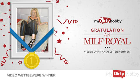 Thank you ! mydirtyhobby GRATULATION