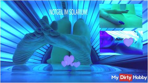 Neues Video! Geil im Solarium !