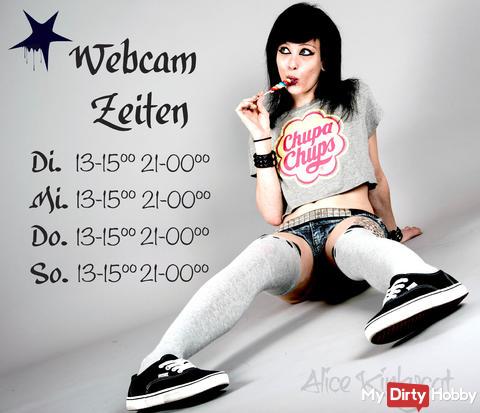 Webcam Zeiten