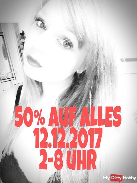 50%auf ALLES