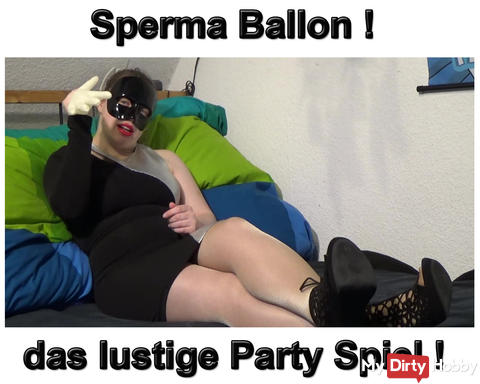 New Video: Cum Balloon the fun party game!