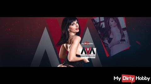 Ava Courcelles en exclu sur mydirtyhobby