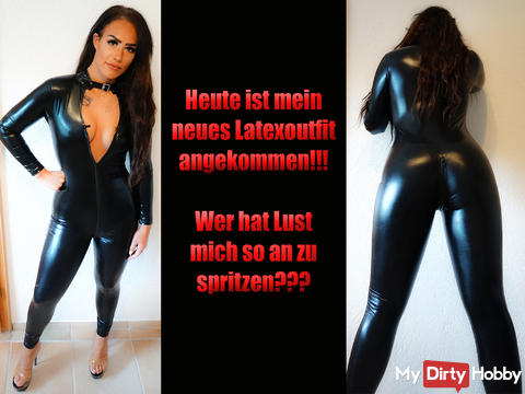 Mein neues Latexoutfit ;-)