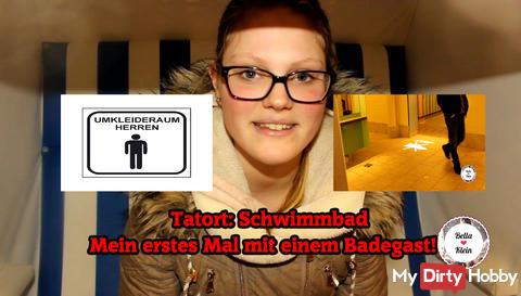 Neues Video: Publicfick im Schwimmbad - Vom Badegast gefickt!