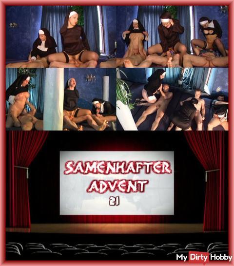 SAMENHAFTER VIDEOKALENDER TÜR 21