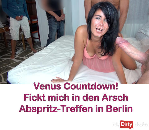 "VIDEO SALE HEUTE; ""Venus-Countdown! Abspritz-Treff in Berlin"""