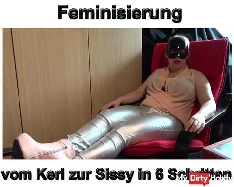 Neues Video: Feminisierung vom Kerl zur Sissy in 6 Schritten