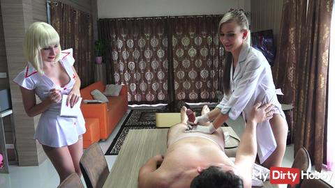 Intern Laura needs Alex's help for a sex and ed lesson