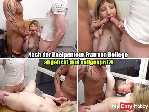 New awesome video !!! She stuffs 2 cocks in her horny Blasmund