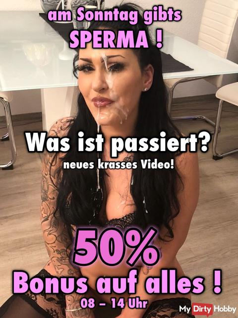 Familien Bukkake - Der Sperma Hammer, neues Video + 50% Bonus auf alles!