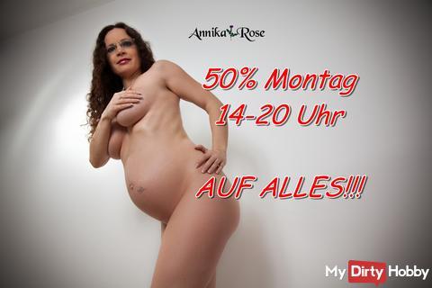 50 % Montag