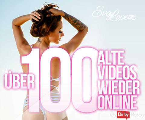 100 Videos wieder online!