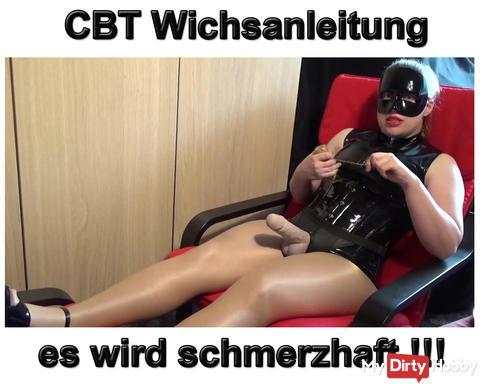 Neues Video: CBT Wichsanleitung! Es wird schmerzhaft!
