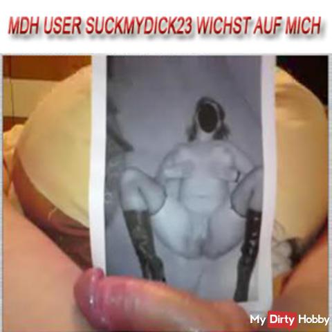 "MDH user ""Suckmydick23"" polishes"