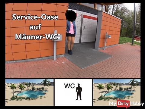 Service-Oase auf Männer-WC