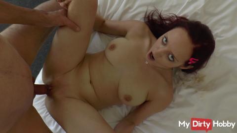 wild whore in continuous orgasm