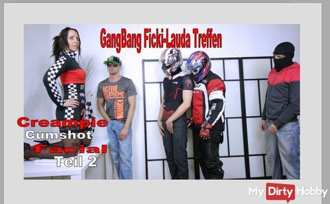 GangBang 4 men fuck me through, PART 2