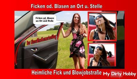 Fucking or blowing in place, The UlmerBlaskonzerten Street