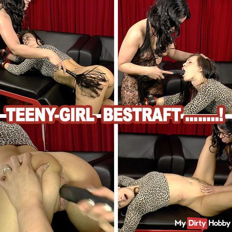 Teeny-Girl .... PUNISHED!