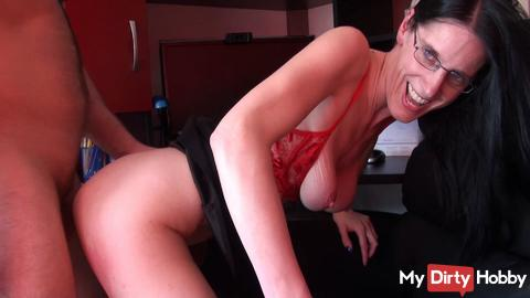 Ass to Mouth in the office