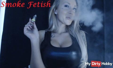 Smoke Fetish in a class!