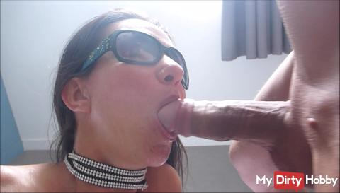 Sucking and fucking with subsequent AO creampie