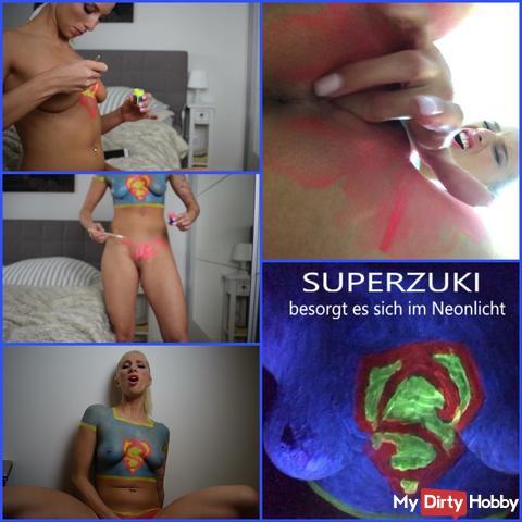 Superzuki come! Geil in the neon light!