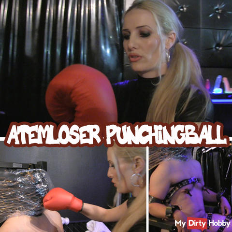 Atemloser Punchingball
