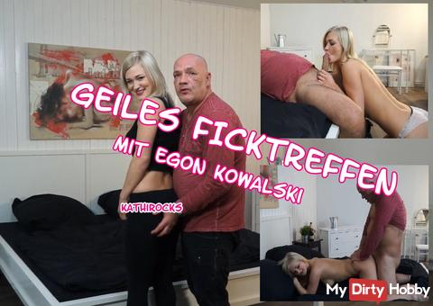 Horny sex parties with Egon Kowalski