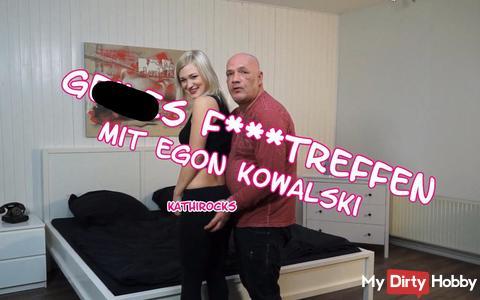 Geiles fi**treffen mit Egon Kowalski