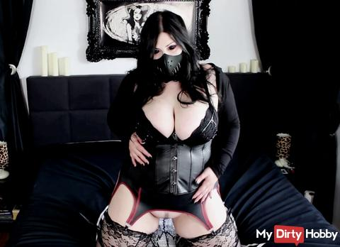 Anal - Gothic Babe fucked the ass!