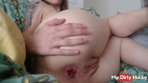 Anal Play with fingers