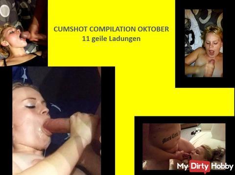 Cumshot Compilation octobre