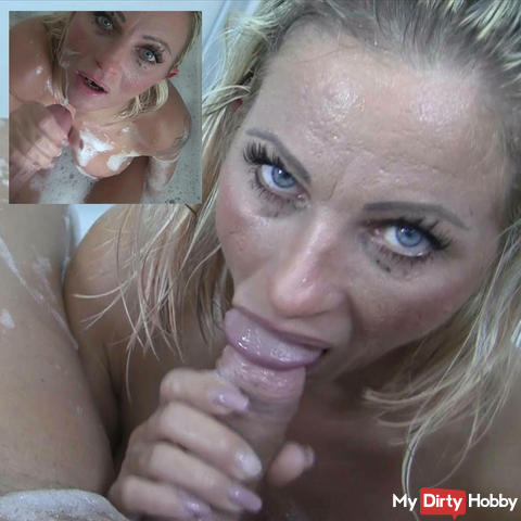 POV blowjob in bathtub it could be yours!