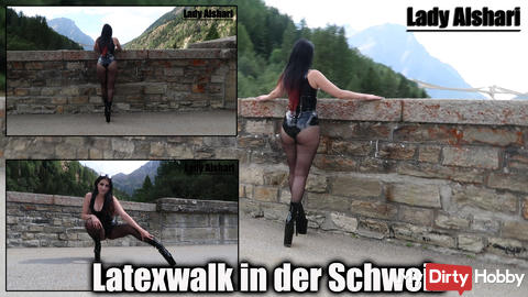 Latex Walk in Switzerland